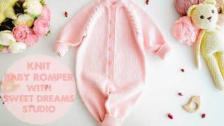 Knit Soft Baby ROMPER / Onesie / Jumpsuit