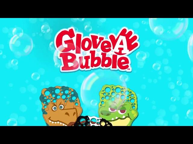 Набір Для Пускання Мильних Бульбашок Glove-A-Bubble - Чарівна Рукавичка