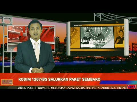 Kodim 1207/BS Pontianak Bagikan 300 Paket Sembako ke Warga Terdampak Pandemi Covid-19