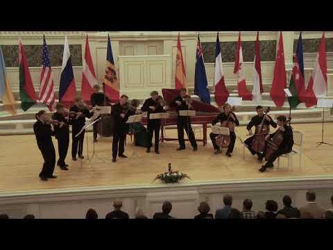 И.С.Бах. Третий бранденбургский концерт, ч. 3