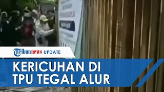 Buntut Ricuh di TPU Tegal Alur, Polisi Tambah Pesonel Perketat Penjagaan Antisipasi Kejadian Serupa