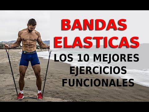 Los 10 mejores EJERCICIOS FUNCIONALES - BANDAS ELÁSTICAS