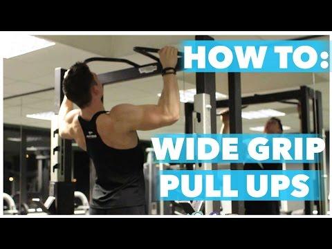 Wide-Grip Pullup