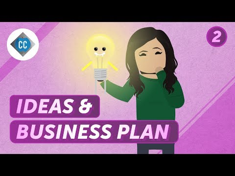 , title : 'How to Develop a Business Idea: Crash Course Business - Entrepreneurship #2