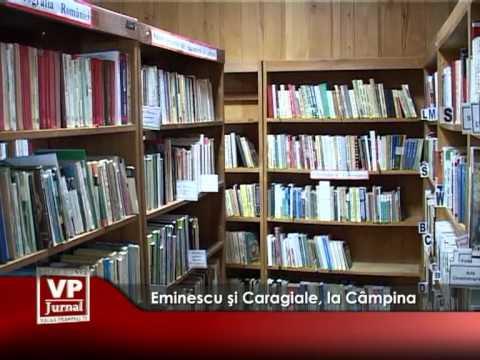 Eminescu şi Caragiale, la Câmpina