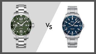 UhrenDuell | Longines HydroConquest vs. MIDO Ocean Star 200 | Juwelier Altherr