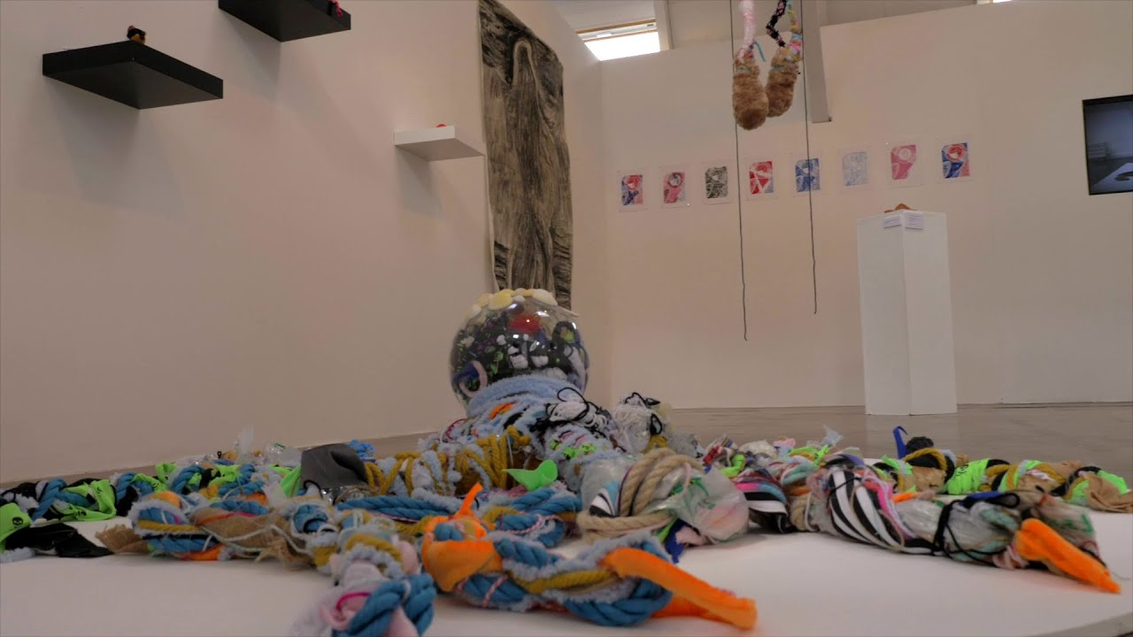 Take a look at the Presence in Absence MA Art Therapy exhibition at Britannia Mill, home to Therapeutic Arts courses at the University of Derby.