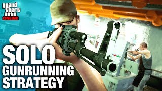 SOLO MONEY GUIDE - Best Time To Sell Your GUNRUNNING Stock By Yourself  -  GTA Online