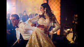 Bride & Groom Bollywood First Dance Performance | #KhattaMitta Reception