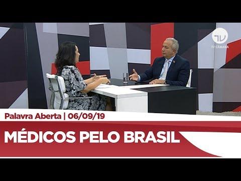 """Eduardo Costa comenta programa """"Médicos pelo Brasil"""""""