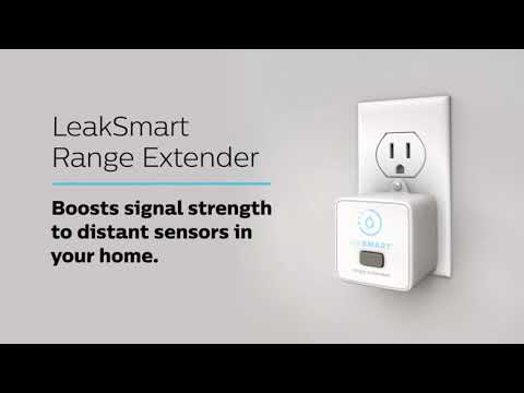 LeakSmart leaking pipe detection technology. Prevent and detect water damage in 5 seconds of detecting the leak. There is no internet connection required for this product. Includes a 2 year warranty from date of installation.