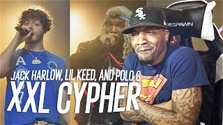 Polo G, Jack Harlow and Lil Keed's 2020 XXL Freshman Cypher (REACTION!!!)