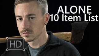 The 10 Items I brought with me on ALONE...and why.