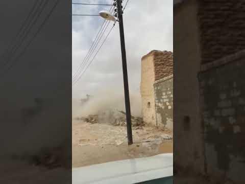 السيول في السعودية تجرف 3 آلاف قطعة أثرية (فيديو)