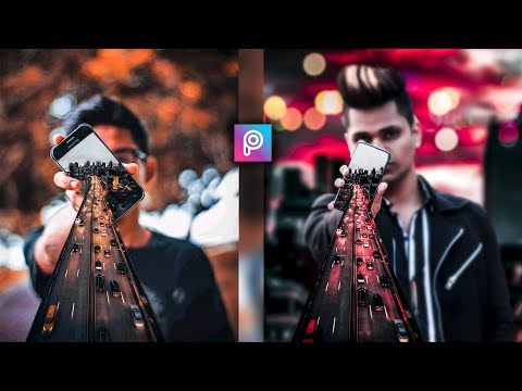 PicsArt 3D Mobile Manipulation Editing Tutorial in picsart Step by Step in Hindi - Taukeer Editz