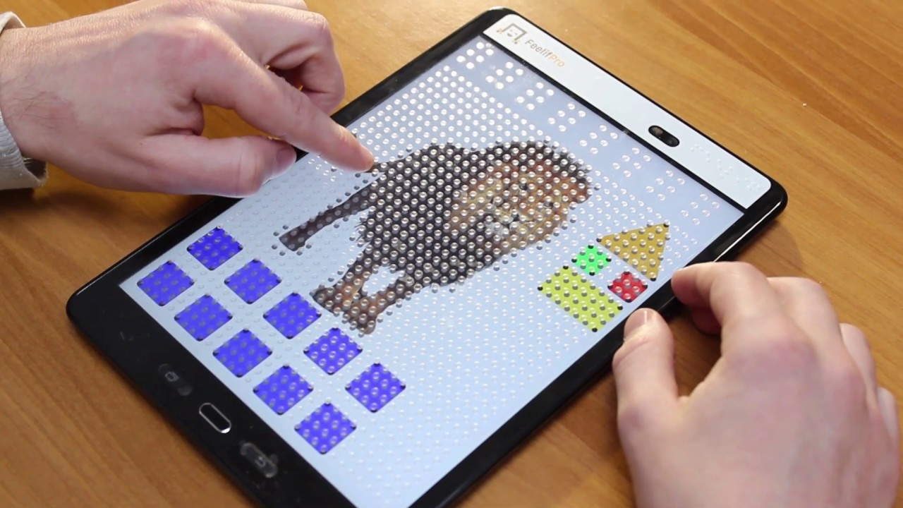 watch video Digital Tactile Book - FeelBook - African Animals