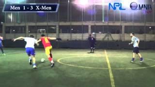 preview picture of video 'Finale Scudetto NPL Omnia Event Men City FC vs X Men Evolution New Palermo League'