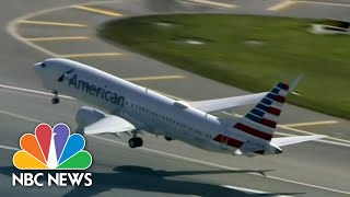 Boeing 737 Max Completes First U.S. Commercial Flight   NBC Nightly News