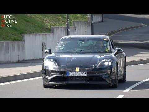 Porsche Taycan Mule