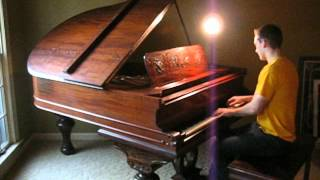 A 100 Year old grand piano before & after tuning