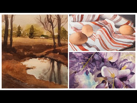 Watercolor Course Online with Jill Williams