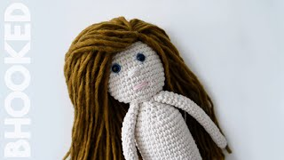 How To Crochet A Doll Step-by-Step (Part 1 Of 2)