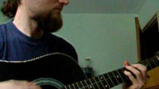 Iced Earth - Consequences guitar cover (accoustic)