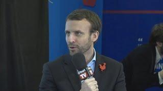 Emmanuel Macron invité du 01Live