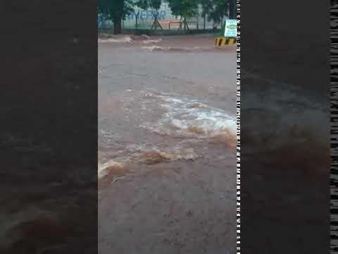 Forte chuva em Altônia