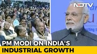 India Now 6th Largest Manufacturing Country In World PM Modi At Gujarat Summit
