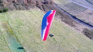 preview picture of video 'Klüsserath Paragliding # 2015-02-22'