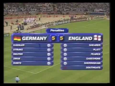 England vs Germany EURO 1996