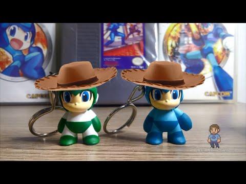 Llaveros de Mega Man | KidRobot | Unboxings Chidos 036