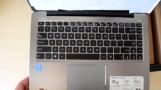 Unboxing The ASUS VivoBook E403 Windows 10 Laptop
