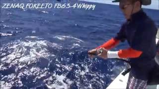preview picture of video 'マグロジギング in 久米島 (2013 July KUME island,Japan Tuna jigging)'