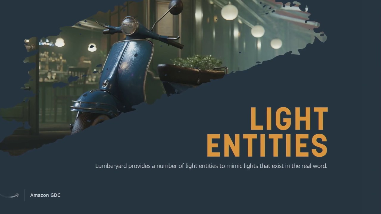 Lumberyard: LIGHTING LEVELS AND ENVIRONMENTS WITH LUMBERYARD