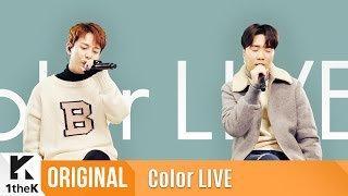Color LIVE(컬러라이브): Park Kyung(박경)_Color Live that is like a Nostalgic-Blue Spectrum!_잔상(Feat. 윤현상)