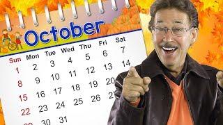 October | Calendar Song for Kids | Jack Hartmann