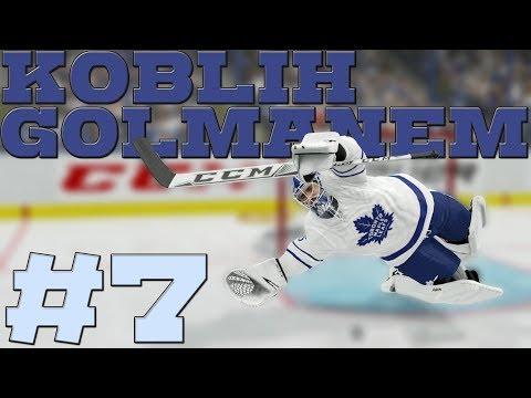 NHL 19 | KOBLIH GOLMANEM #7 | PASTRŇÁK V AKCI! | CZ/SK