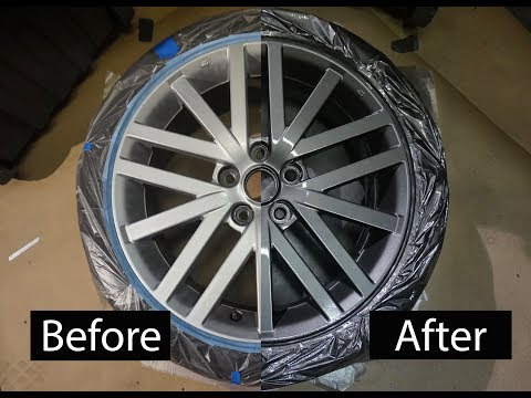 How to paint your wheels! – DIY (the PROPER way) | DG Custom CLT