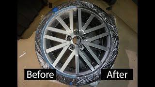 How to paint your wheels! - DIY (the PROPER way) | DG Custom CLT