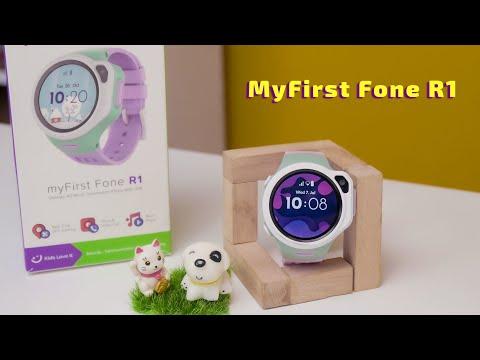 My First Fone R1: Đồng hồ định vị trẻ em cao cấp, nghe nhạc, gọi điện, videocall  [Review DHDV]