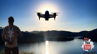 DJI FPV voando sobre a Barragem da Represa! AO VIVO!