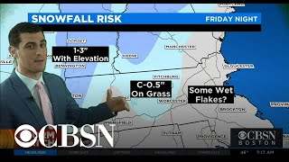 Rare May snow in the forecast for New England
