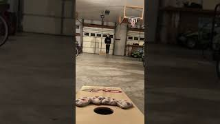 Bouncing Over Cornhole Bags