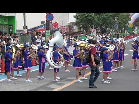 音楽パレード 谷田小学校 金管バンド/第16回 浦和よさこい2019