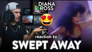 Diana Ross Reaction Swept Away (BIG HIT!) | Dereck Reacts