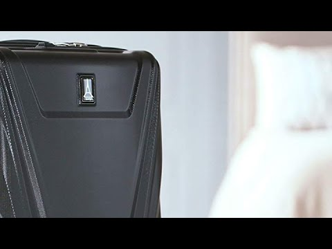 Travelpro Maxlite 5 Carry-on Spinner Hardside Luggage, Black