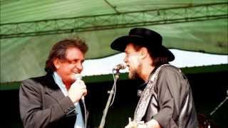 Johnny Cash & Waylon Jennings  -   I Wish I Was Crazy Again - There Ain't No Good Chain Gang