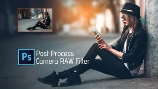 Photoshop Tutorial | Adobe CC 2017 | Camera RAW Filter | How to edit  photo